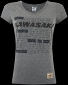 LADIES KAWASAKI T-SHIRT M