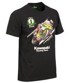 "Kawasaki Official Jonathan Rea World Champion T-shirt SIZE LRG 40"""