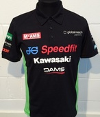 "Kawasaki Official BSB Polo Size LRG 42"""