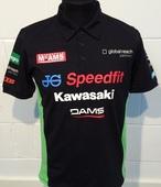 "Kawasaki Official BSB Polo Size Med 40"""