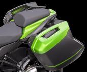 28 litre panniers x 2 Kawasaki Z1000SX 2014 ~