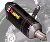 Akrapovic Dual Exhaust Muffler Set Z1000SX