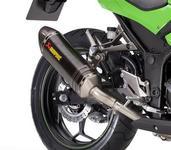 Kawasaki Z300 / Ninja 300 Akrapovic Muffler