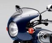 Kawasaki W800 Bikini Cowling metallic Nocturn Blue W800 2014