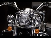 Chrome lightbar VN1700 Classic and Tourers