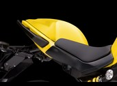 Seat cover Kawasaki ER6 P. shining yellow 2012~