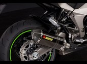 Akrapovic carbon mufflers, Z1000 plus SX & SX Tourer versions