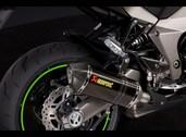 Akrapovic carbon mufflers, Z1000 plus SX & SX Tourer versions