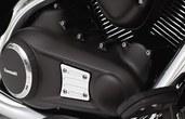 ENGINE COVER TRIM VN1700 & CLASSIC TOURER 2013~
