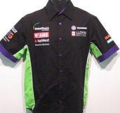GB Moto Team Shirt Size SML 40""
