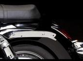 Kawasaki VN700 saddle bag support adaptor.