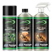 Team Green Dirt Bike Cleaning Pack