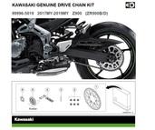 Genuine chain kit Z900 (ZR900B/D)