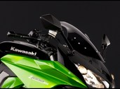 Smoked windshield, Z1000SX & SX Tourer 2011 ~ 2014