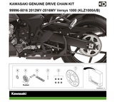 Genuine chain kit Versys 1000 (LZT00A/B)