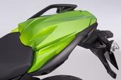Pillion seat cover Kawasaki Z1000SX 2014 green