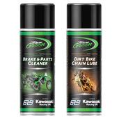 Team Green Dirt Bike Chain Care Pack