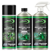 Team Green Motorcycle Cleaning Pack