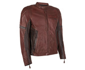 RS Leather Jacket Brown SML 36""