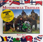 Peter Starr Motorcycle Traveler (Hardback + DVD)