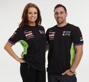 "GB Moto Team T-shirt Size - LRG 44"""
