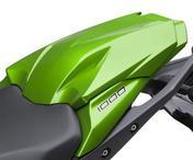 Kawasaki Z1000SX Pillion Seat Cover Metallic Carbon Gray