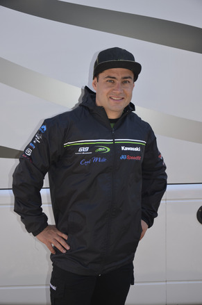 "Official Kawasaki BSB Team Jacket Size LRG 40"" picture"