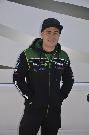 """Official 2017 Kawasaki BSB Hoody Size LRG 40"""" picture"""