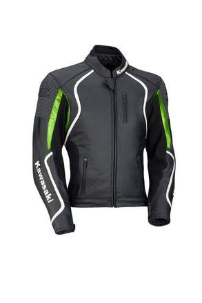 "Kawasaki Z Leather Jacket Medium 38"" picture"