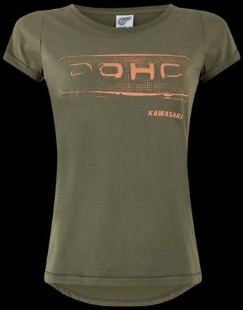 Ladies Kawasaki DOHC T-Shirt L picture