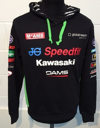 """Kawasaki Official BSB Hoody Size LRG 42"""" picture"""