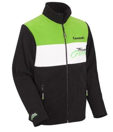 Kawasaki Team Green Ladies Fleece Size MED 10 picture