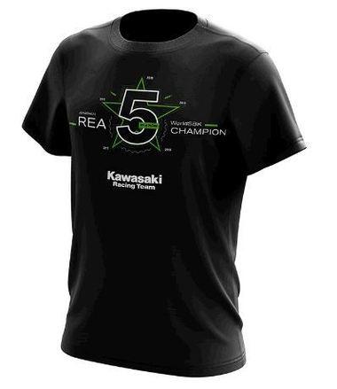 Jonathan Rea World Champion T-Shirt 2019 Medium picture