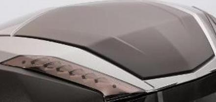 Kawasaki Black Anodized Deco Plate picture