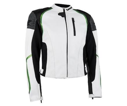 """Ladies Z Leather Jacket White MED 34"""" picture"""