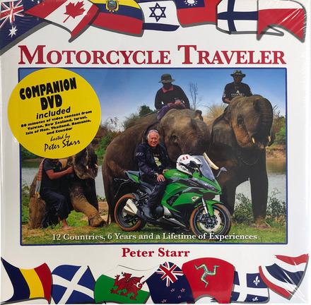 Peter Starr Motorcycle Traveler (Hardback + DVD) picture