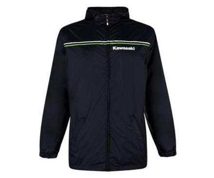 "Kawasaki Sports Rain Jacket SIZE LRG 40"" picture"
