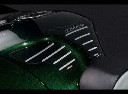 Kawasaki 1400GTR Tank pad set picture