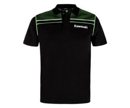 """Kawasaki Sports Short Sleeve Polo Shirt SIZE LRG 40"""" picture"""