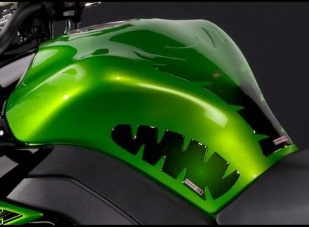 Kawasaki Z1000 & Z1000SX Knee pads picture