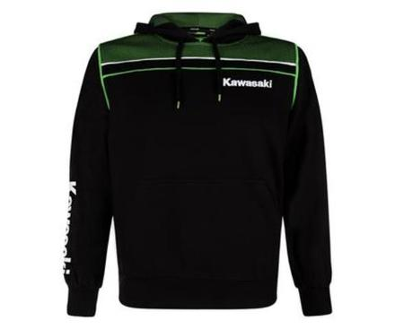 "Kawasaki Sports Hoody  SIZE XLG 42"" picture"
