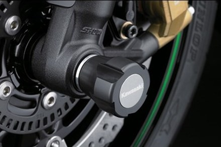 Kawasaki Axle Protection Z1000 picture