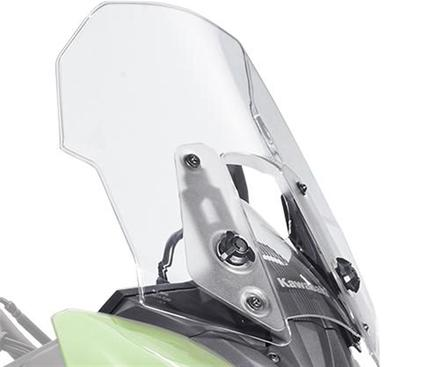 Large clear Windscreen Versys picture