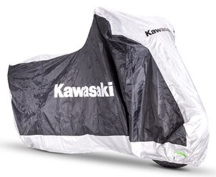 Kawasaki Outdoor Bike Cover - Large picture