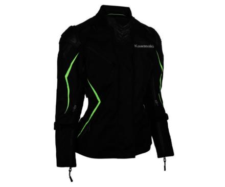 Kawasaki Highline Tourer Ladies Textile Jacket L picture