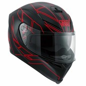 K-5 S HERO BLACK/RED