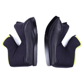 Cheek Pads Ax-8/Ax-8 EVO YELLOW STITCHING