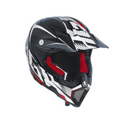 AX-8 EVO Carbotech White/Red
