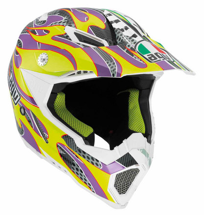AX-8 Evo Flame Yellow/Purple picture