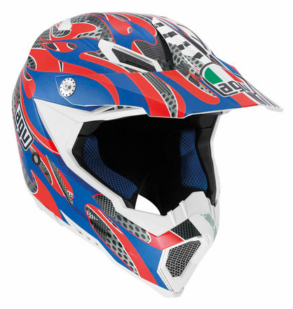 AX-8 Evo Flame Red/Blue picture